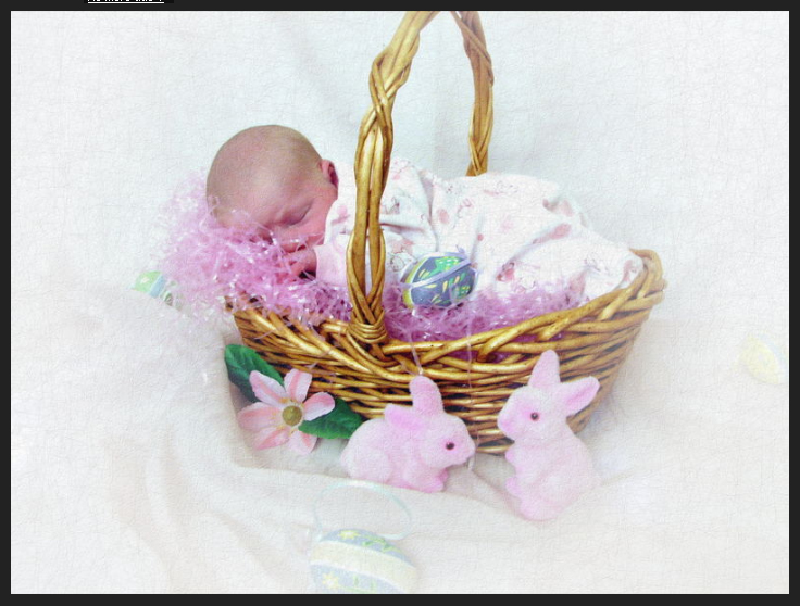 Basket full of baby you are not a photographer aw who left this baby in an easter basket negle Images